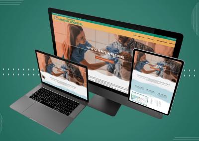 Animal Hospital Website Design Ottawa