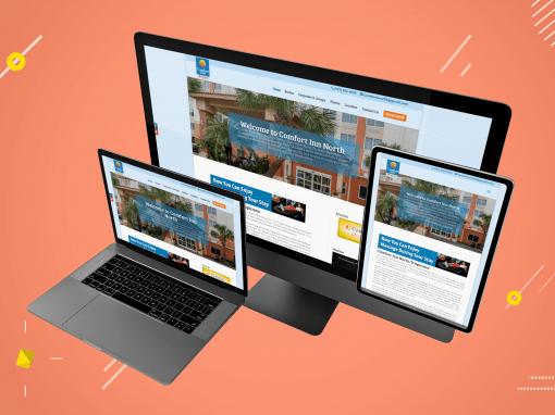 Comfort Inn website design USA